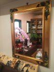 名古屋店のリビングの鏡